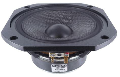 Speaker Audax audax hm170c0 6 5 quot carbon fiber woofer