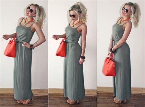 Zahra Maxy Dress ootd khaki maxi zara mini shopper couture