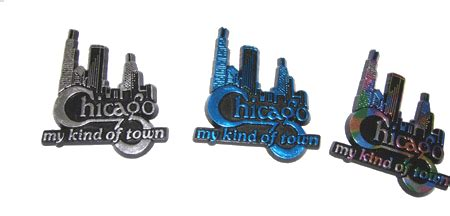 rubber sts chicago chicago skyline rubber magnets set of 3 great chicago