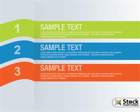 banner design list number list infographic banner vector vector photoshop