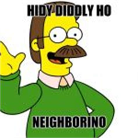 Ned Flanders Memes - ned flanders wave meme generator imgflip