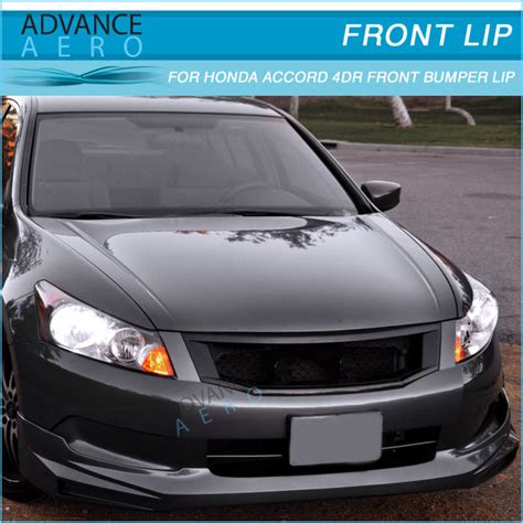 for 2008 2010 honda accord poly urethane front bumper lip