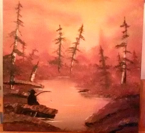 bob ross painting reddit another bob ross style painting 40x40cm