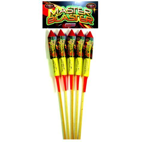 Master Blaster Firework Rockets   Starburst Fireworks Ltd