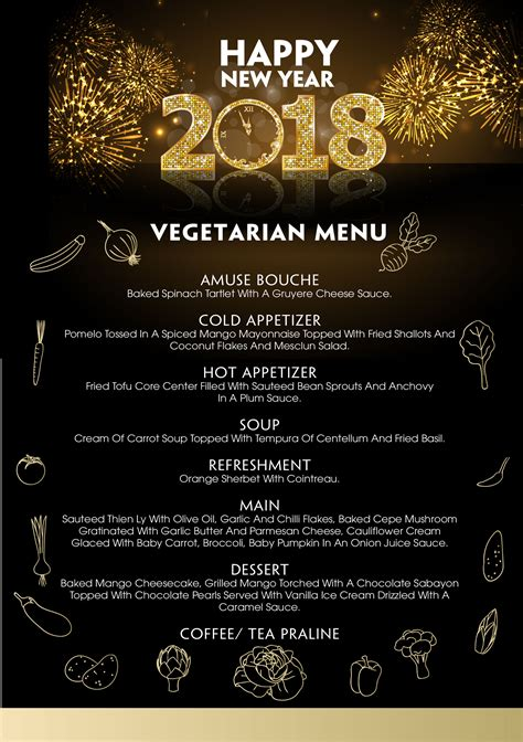 new year menu vegetarian new year s 2018 villasong saigon boutique hotel
