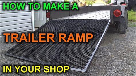 build  diy trailer ramp    bucks