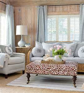 cottage style curtains gingham a fresh new look for a classic style