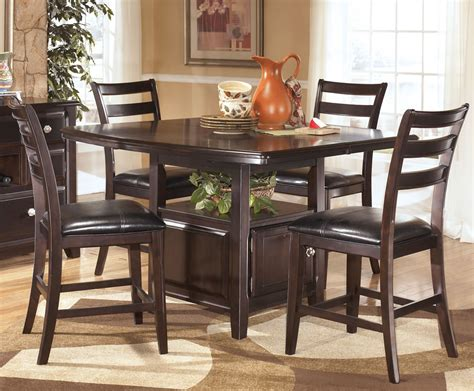Square Counter Height Dining Table Sets Favorite 25 Photos Square Counter Height Dining Sets Dining Decorate