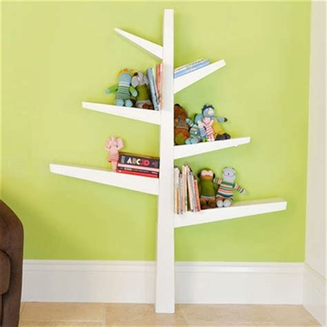 babyletto spruce tree bookcase in white free shipping