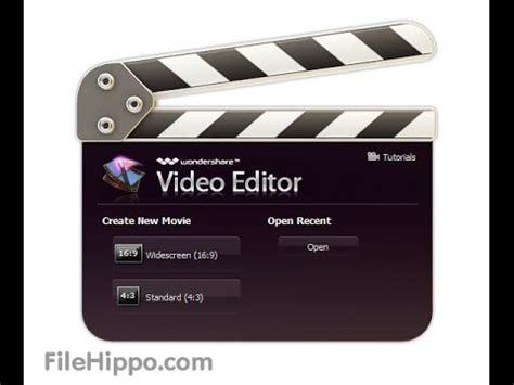 tutorial wondershare video editor wondershare video editor tutorial basic features youtube