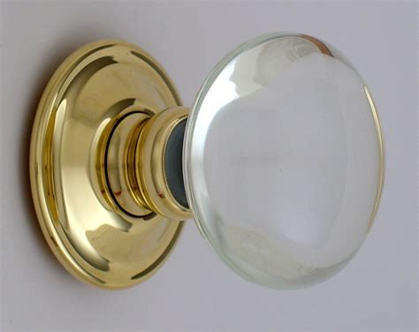 Clear Glass Door Knobs Smooth Glass Door Knobs
