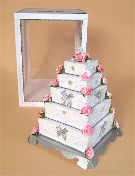 3 tier cake card template a4 card templates for 3d 5 tier wedding cake