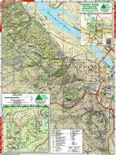 forest park oregon hiking map trail maps of portland