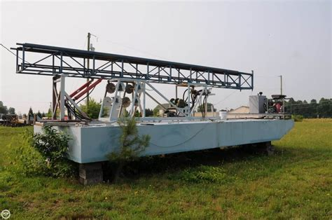 small boats for sale virginia 2009 custom craft 30 work barge west point virginia