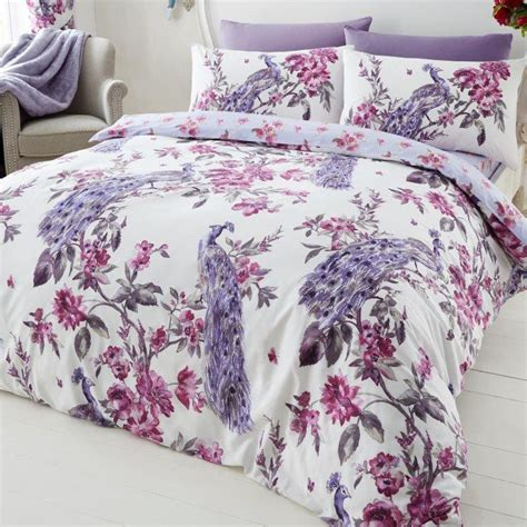 gaveno cavailia plume duvet cover set in purple next day