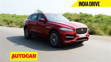 Jaguar Auto India by Jaguar F Pace Diesel India Review Autocar India