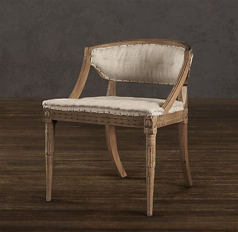 restoration hardware chairs swedish demi lune chair dining room