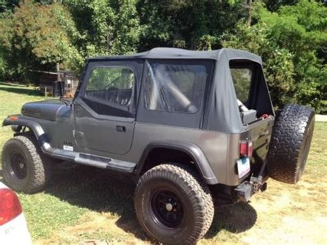 1989 Jeep Wrangler Soft Top Buy Used Jeep 1989 Jeep Wrangler Base Sport Utility 2