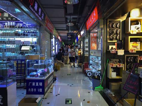 shenzhen electronics market huaqiangbei remains