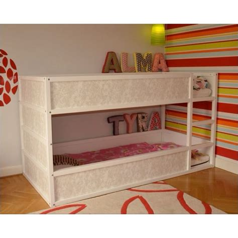 ikea low loft bed love these low profile bunk beds kid s room pinterest