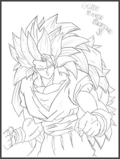 dibujos para colorear de goku super saiyan 4 search fantasticos dibujos para imprimir de goku dibujos de