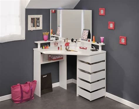 Bathroom Vanity Mirror Ideas parisot beauty bar corner dressing table