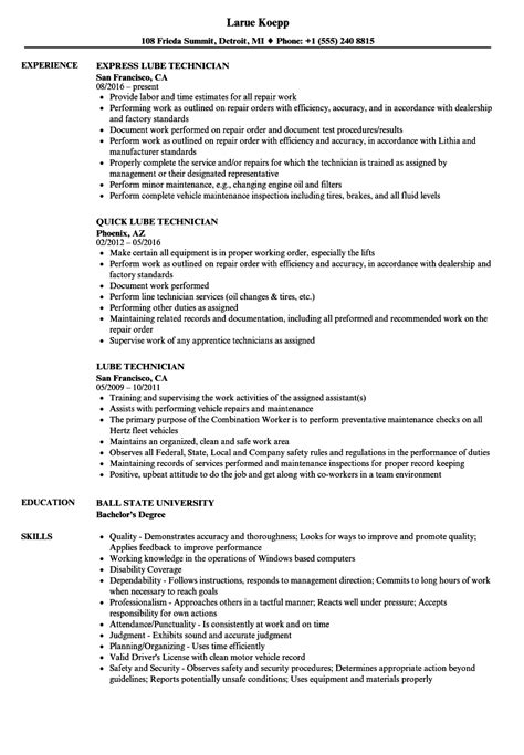 Tire And Lube Technician Cover Letter by Resume Tire And Lube Technician Marketing Advertising Bounty Resume Exle Piping