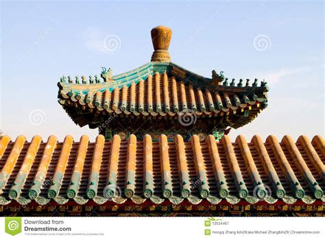 Gable Roof House Plans chinese roof royalty free stock photography image 12534467