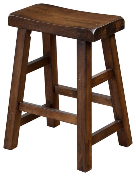24 Saddle Bar Stools by Saddle Seat Stool 24 Quot Traditional Bar Stools