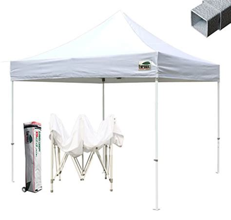 Commercial Grade Pop Up Canopy by Video Review Commercial Grade Std 10x10 White Canopy