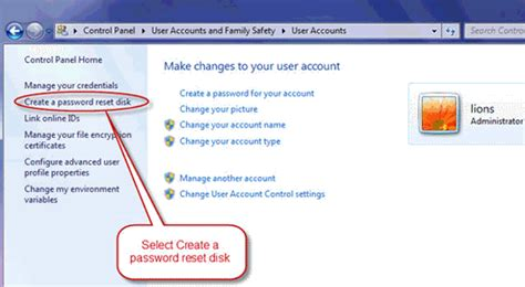 windows reset password no drive how to create windows 7 password reset disk with usb