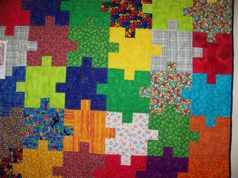 Jigsaw Puzzle Quilt Pattern by Jigsaw Quilt