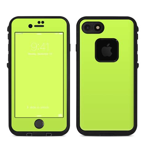 lifeproof iphone  fre case skin solid state lime  solid colors decalgirl