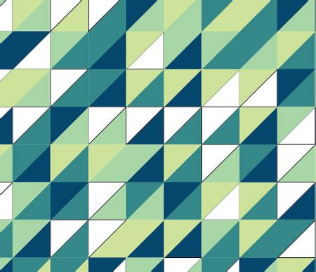 shape pattern generator create a retro triangular pattern design in illustrator