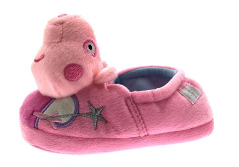 peppa pig slipper boots 3d peppa pig slippers novelty character pink