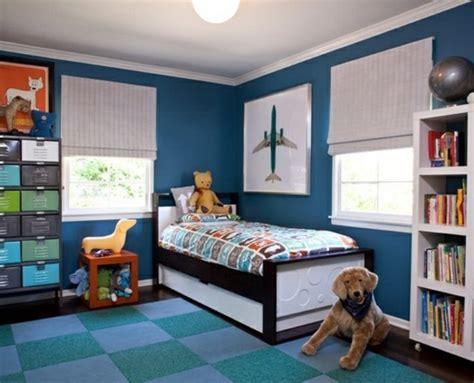 Deco Chambre Bleu Et Marron