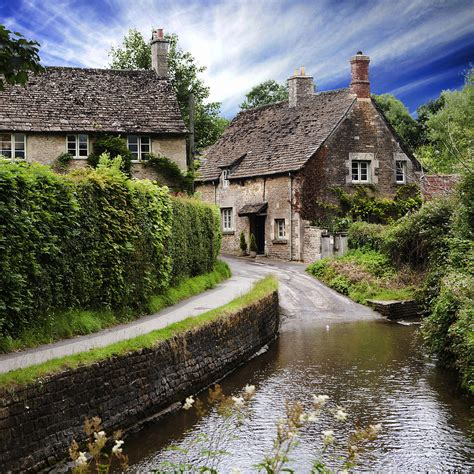 english cottage photograph by wendy white