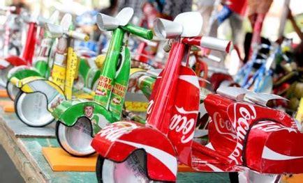 mainan kreatif  botol plastik mainan toys