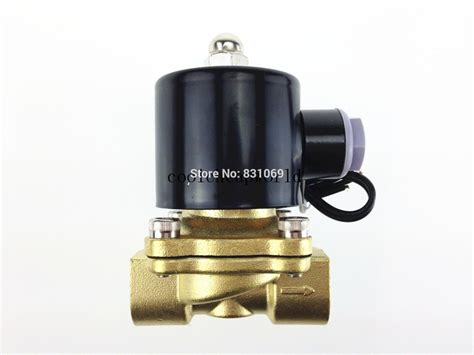 Ac 1 2 Pk China 1piece 110v ac 1 2 quot electric solenoid valve water air n c nc normal brand new in brass