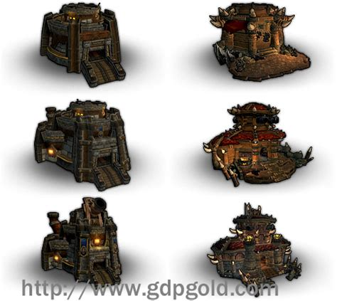 Wow Garrison S Large Buildings Guide 2 Gdpgold Com Building Upgrade Plans Wow