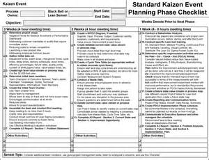 kaizen demystified worksheets the lean store