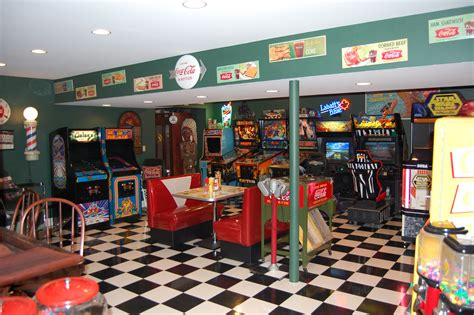 Garage Interior Ideas by Mike S Game Room Front Royal Va Retro Furniture Retro