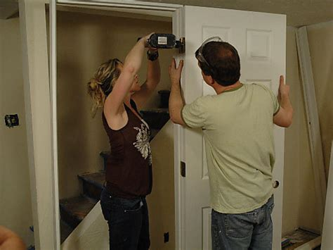 how to install a pre hung door how tos diy