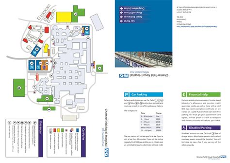 leaflet design chesterfield health sector leaflet and brochure design location maps