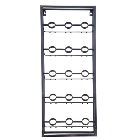 Wall Wine Rack Metal by Metal Grid Wall Wine Rack Plum Post