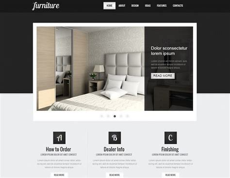 How To Choose The Best Interior Design Website Template Interior Website Templates