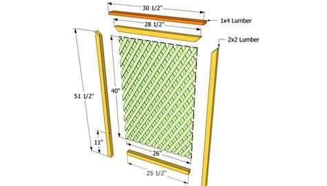 diy trellis plans pdf diy how to build wood trellis download cl holder