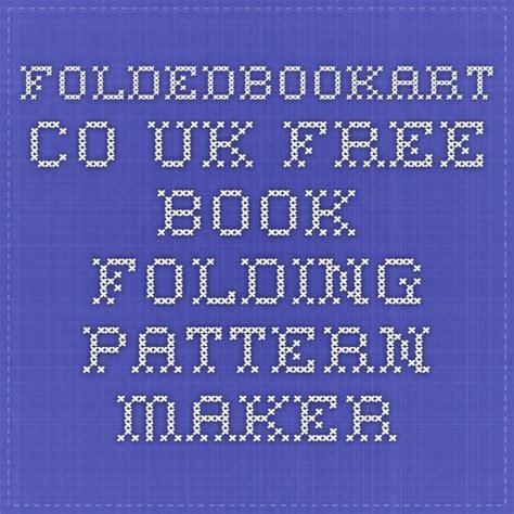 book art pattern generator 17 best ideas about book folding on pinterest folded