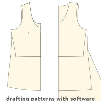 pattern drafting illustrator patternmaking cloth habit