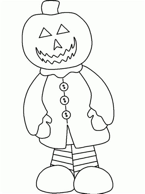 easy coloring pages for halloween easy halloween coloring pages coloring home